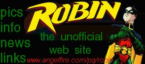Robin: The Unofficial Website